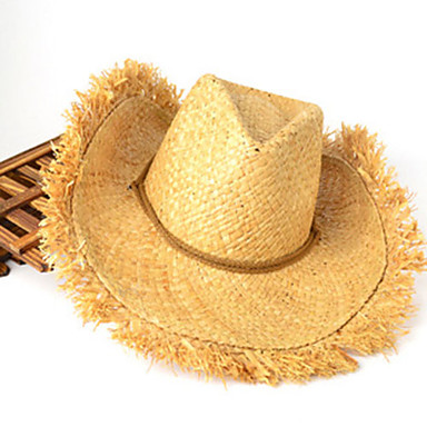 Straw cowboy hat men