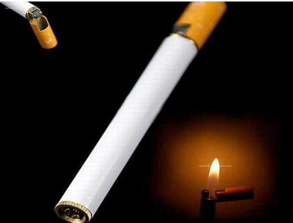 Зажигалка в форме сигареты