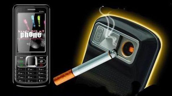 Зажигалка-телефон